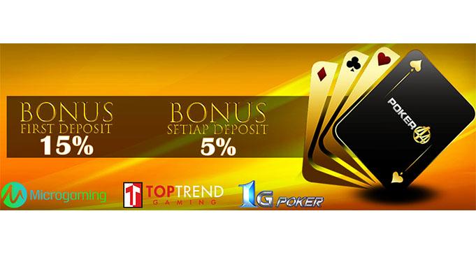 bonus deposit judi online terbesar